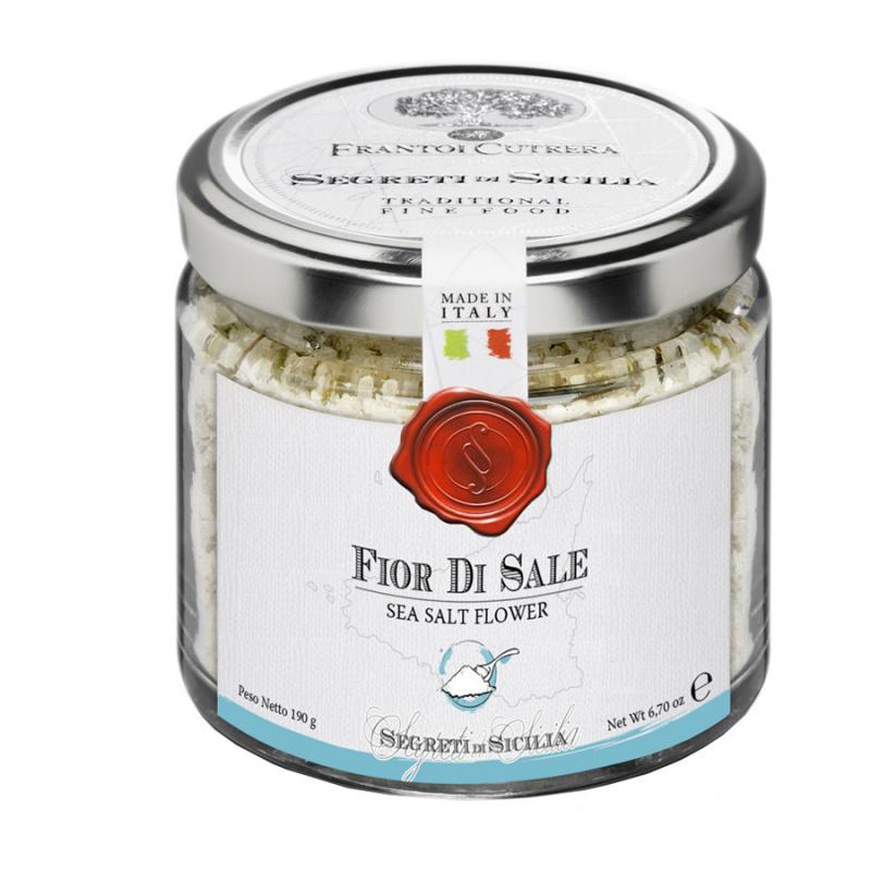 Fior di sale marino artigianale di Sicilia