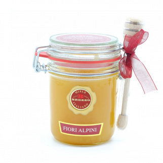 Miel de Fleurs des Alpes du Piémont 400 gr