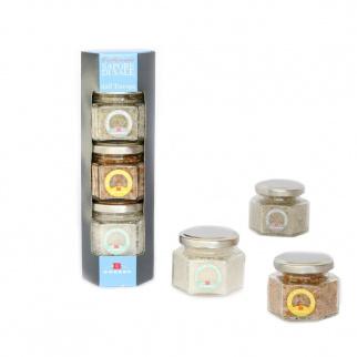 European Sea salts - Grey Guerande - Smoked - Fleur de Sel 260 gr