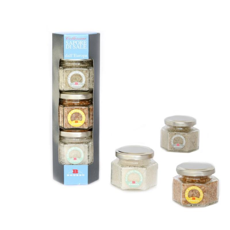 Collection Saveur de sel - les sels d'Europe