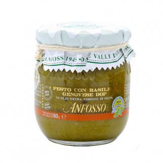 Pesto avec Basilic Génois AOP sans ail 180 gr