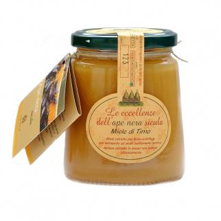 Miel de Thym Abeille Noire Sicilienne 400 gr