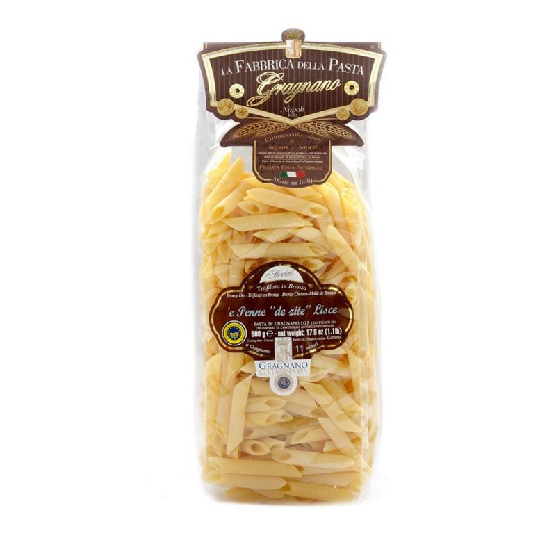 "Penne Lisce ""de Zite"" - Pasta di Gragnano IGP"