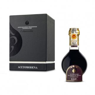 Traditioneller Balsamico Essig aus Modena DOP Extravecchio 25 Jahre Black Box 100 ml