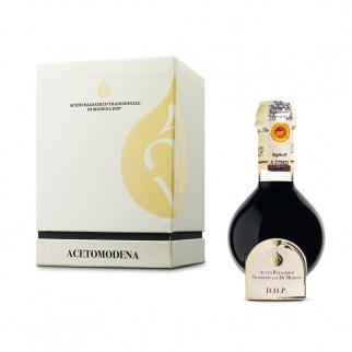 Traditioneller Balsamico Essig aus Modena DOP Affinato 12 Jahre White Box 100 ml