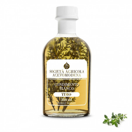 Condiment Blanc au Vinaigre et Thym 250 ml