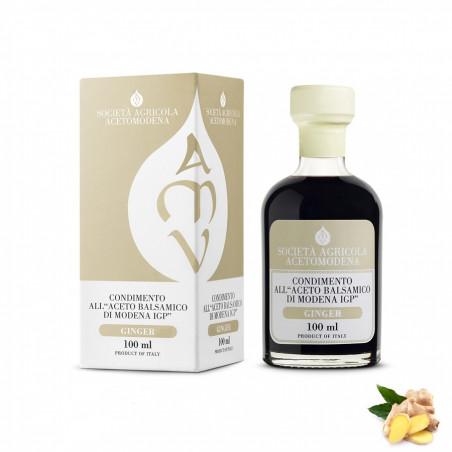 Condiment au Vinaigre Balsamique de Modena IGP et Gingembre 100 ml