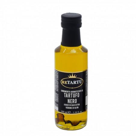 Dressing aus Nativem Olivenöl und Schwarzem Trüffel 100 ml