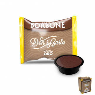 50 Capsule Caffè Borbone Miscela ORO Compatibili Lavazza A Modo Mio*