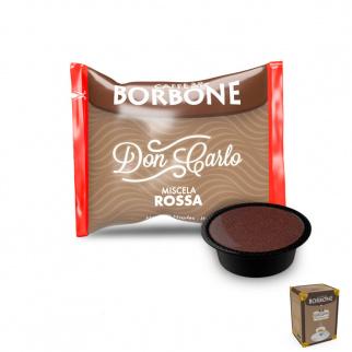 50 Capsule Caffè Borbone Miscela ROSSA Compatibili Lavazza A Modo Mio*