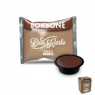 50 Kapseln Caffè Borbone SCHWARZ Mischung mit Lavazza A Modo Mio* Kompatibel