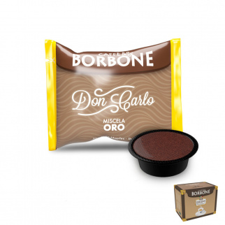 100 Capsule Caffè Borbone Miscela ORO Compatibili Lavazza A Modo Mio*