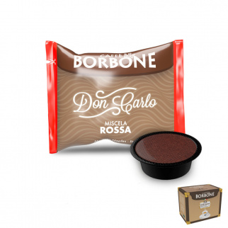 100 Kapseln Caffè Borbone ROT Mischung mit Lavazza A Modo Mio* Kompatibel