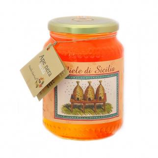 Miel Toutes Fleurs Abeille Noire Sicilienne 1 kg
