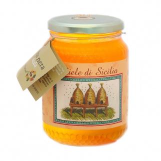 Miel d'Agrumes Abeille Noire Sicilienne 1 kg