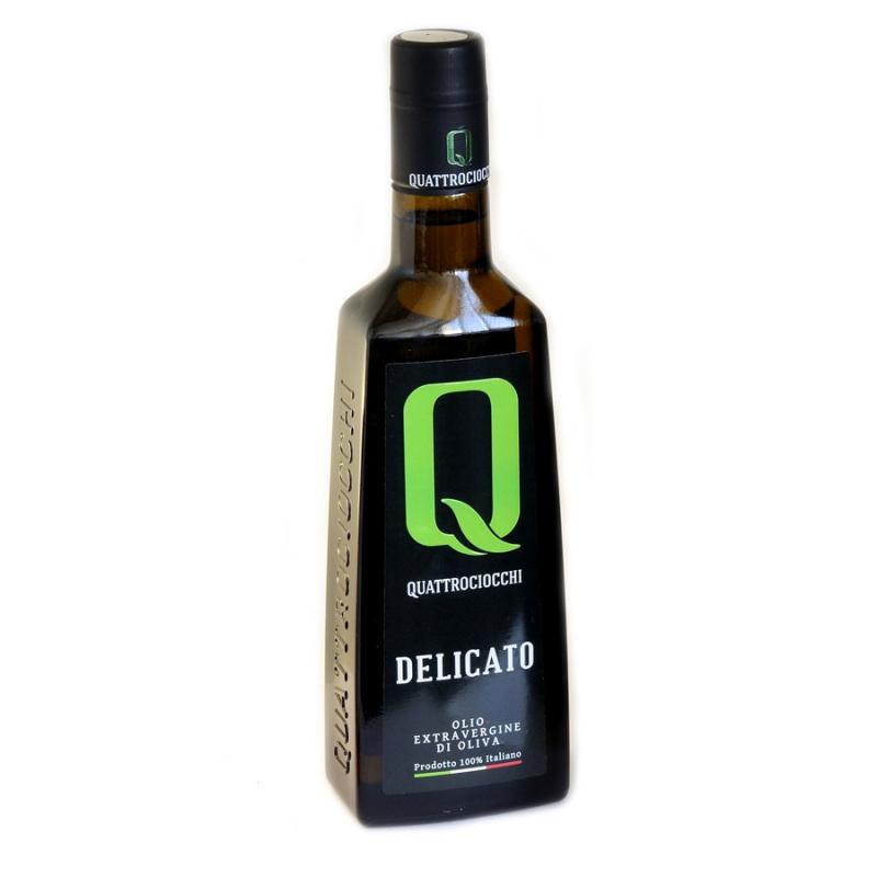 Olio Extra Vergine di Oliva Delicato 100% Leccino Quattrociocchi