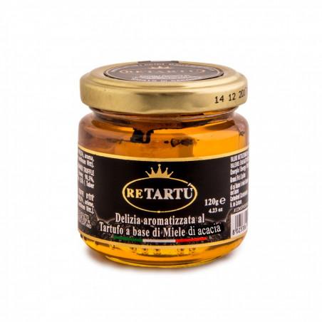Delizia aromatizzata al Tartufo a base di Miele di Acacia 120 gr