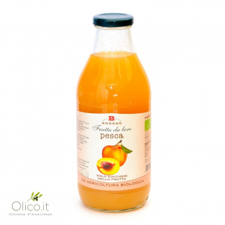 Organic Peach Juice 750 ml