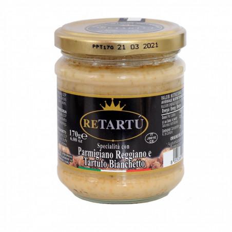 Sauce blanche avec Parmigiano Reggiano AOP et Truffe Bianchetto 170 gr
