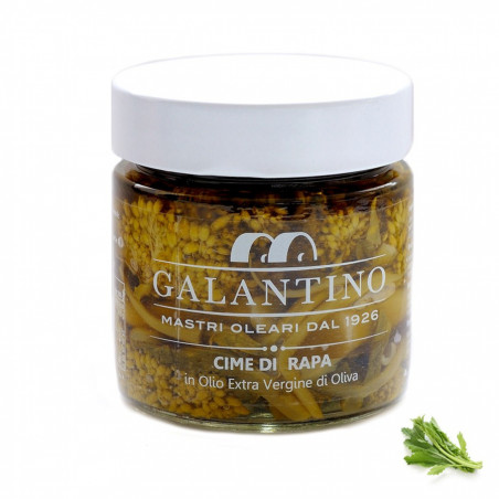 Cime di rapa in olio extra vergine di oliva 230 gr