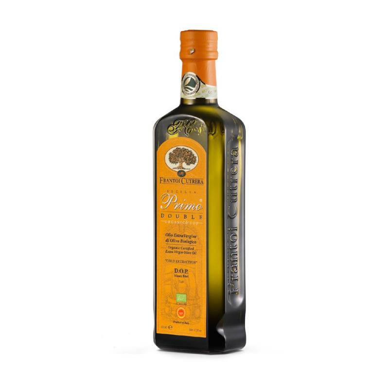 Olio Extra Vergine di Oliva Primo Double DOP & Bio Cutrera