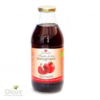 Succo di Frutta Biologico al Melograno