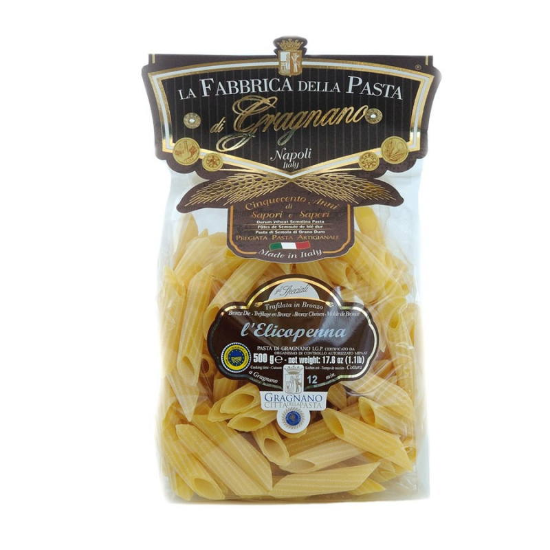 Elicopenne - Pasta di Gragnano IGP