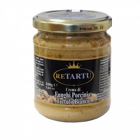 Crème à base de Cèpes et Truffe Blanche 160 gr