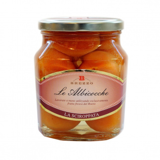 Whole Apricots in syrup 600 gr