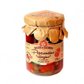 Scharfe Kirsch Peperoncini 135 gr