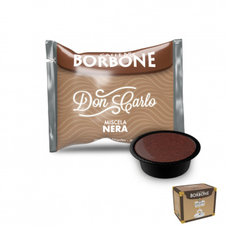 150 Kapseln Caffè Borbone SCHWARZE Mischung mit Lavazza A Modo Mio* Kompatibel