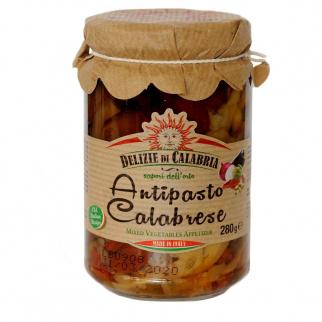 Antipasti Calabrais avec légumes 280 gr