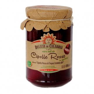 Cipolla Rossa di Tropea Calabria IGP in agrodolce 280 gr