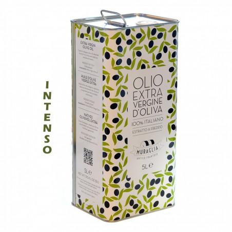 Huile d'Olive Extra Vierge Fruitée intense Muraglia 5 lt