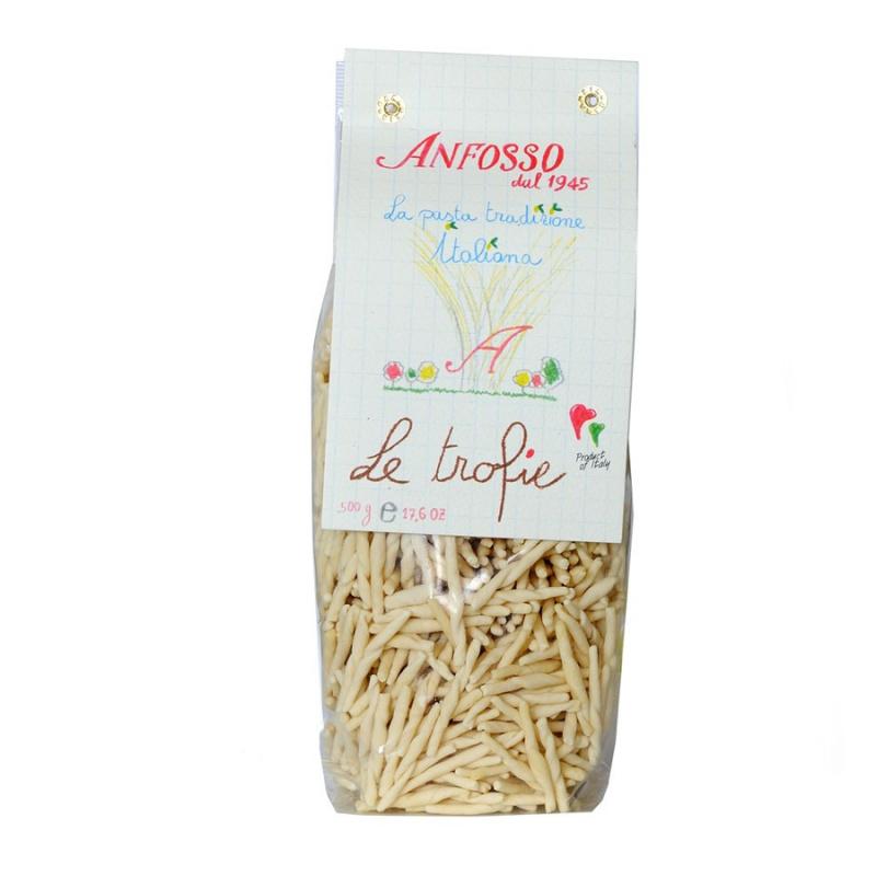 Trofie - Pâtes traditionnelles de la Ligurie