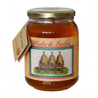 Cardoon Thistle Honey Sicilian Black Bee 1 kg