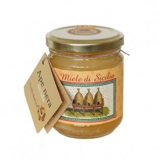 Lemon Honey Sicilian Black Bee 250 gr