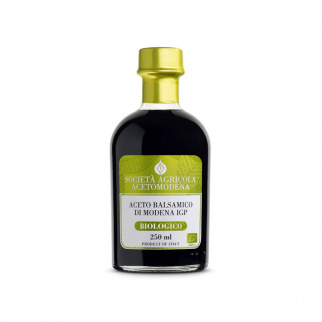 Organic Balsamic Vinegar of Modena PGI Acetomodena 250 ml