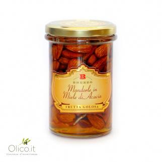 In Honig eingelegte Mandeln