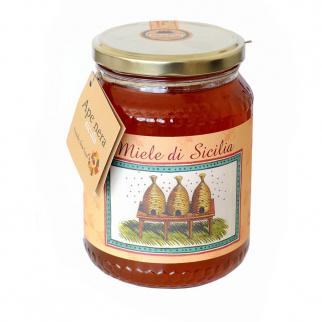 Miel d'Eucalyptus Tardif Abeille Noire Sicilienne 1 kg