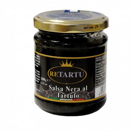 Tapenade van Zwarte Olijven en Zomertruffel 180 gr