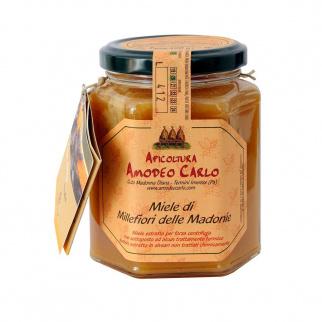Miel Toutes Fleurs des Monts Madonie Abeille Noire Sicilienne 400 gr
