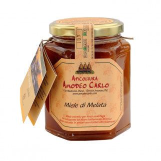 Honeydew honey Sicilian Black Bee 400 gr