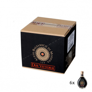 Balsamic Vinegar of Modena PGI Due Vittorie Oro  250 ml x 6