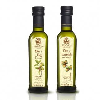 Tenuta del Roero Seed Oils set: Hazelnut and Walnut 250 ml x 2