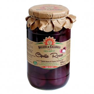 Sweet and sour Red Onions of Tropea PGI 950 gr
