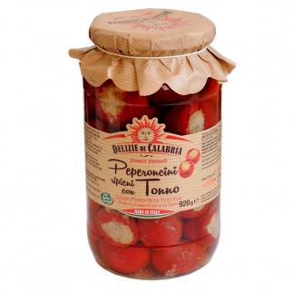 Kirsch Peperoncino mit Thunfisch gefüllt 920 gr