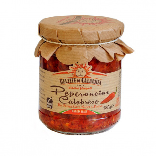 Peperoncino Sauce aus Kalabrien 180 gr