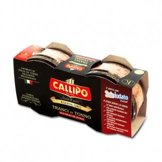 Callipo Tonijnschijfjes in Olijfolie Riserva Oro 80 gr x 2
