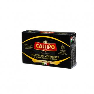Filetti di Ventresca all'Olio di Oliva Riserva Oro 125 gr